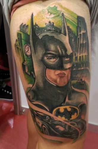 Tatuaje de Batman  realizado en nuestro centro de Parquesur de Madrid.    #tattoo #tattoos #tattooed #tattooing #tattooist #tattooart #tattooshop #tattoolife #tattooartist #tattoodesign #tattooedgirls #tattoosketch #tattooideas #tattoooftheday #tattooer #tattoogirl #tattooink #tattoolove #tattootime #tattooflash #tattooedgirl #tattooedmen #tattooaddict#tattoostudio #tattoolover #tattoolovers #tattooedwomen#tattooedlife #tattoostyle #tatuajes #tatuajesmadrid #ink #inktober #inktattoo