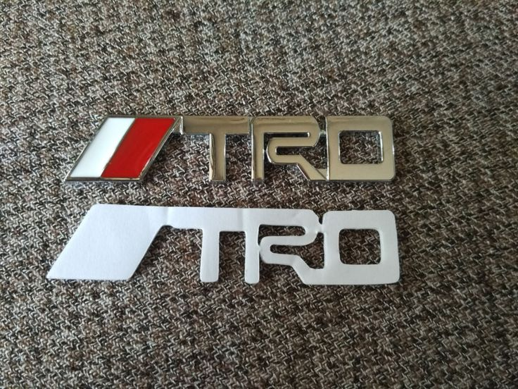 Find More Stickers Information about  mini TRD 6.5x1.3cm Car badge 3D Modified…