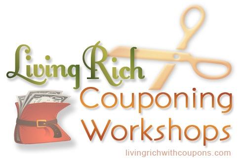 Living Rich Couponing Workshop