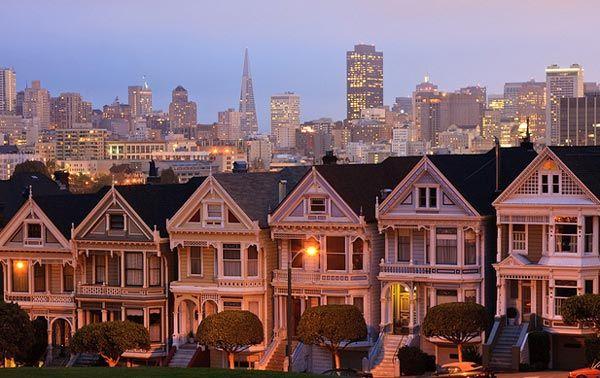 Τα διάσημα βικτωριανά σπίτια του Σαν Φρανσίσκο!