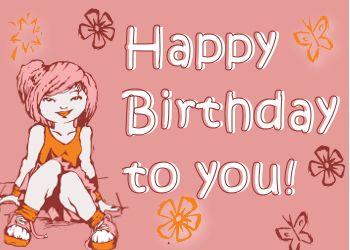 Mooie verjaardagswens voor een tiener: Happy Birthday!