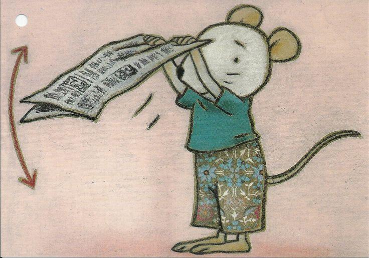 Bewegingskaart krant