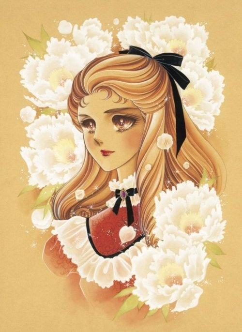 Ayumi Himekawa from Glass Mask by Suzue Miuchi. Classic otome manga.