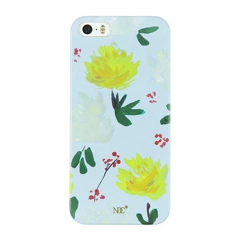 Yellow Peony iPhone case (5/5S/SE) by NUNUCO® #iphonecase #nunucodesign