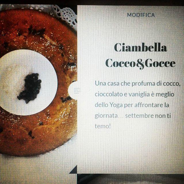 📷📝💬 pronti,partenza,viaaa.. #ciambella #coccoecioccolato Gusciduovo.com #link…