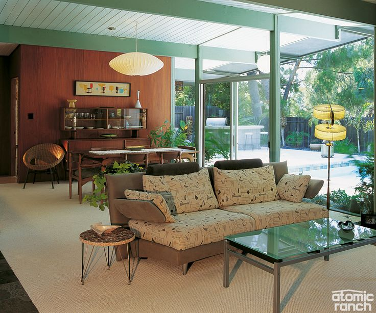 Mid Century Homes Style  Modern Interior Design Decor Ideas Part 85
