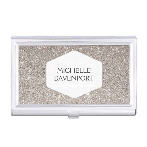 83 best makeup artists cosmetologists business cards images on white emblem on silver glitter biz card holder reheart Image collections
