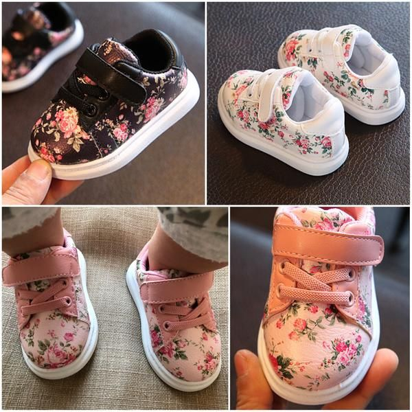 The Retro Hip Floral Sneaker Floral Sneakers Newborn Shoes