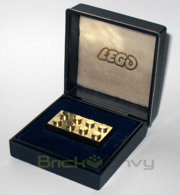 Peek at the most expensive Lego brick in existence.  This ultra-rare Lego brick is actually worth more than its weight in gold.