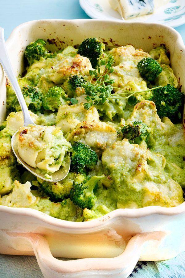 Tortelloni-Brokkoli-Auflauf