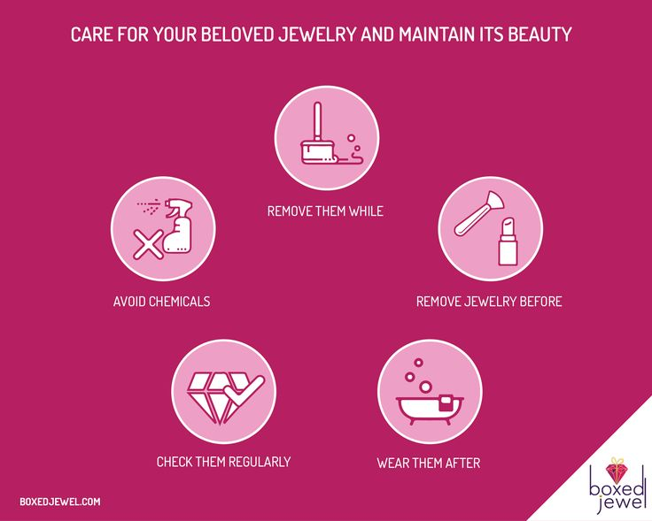 Care for the ones you #love! We love our #Jewels and here is how we take complete care of them! :) #Infographic #JewelCare #GoldJewelryCare