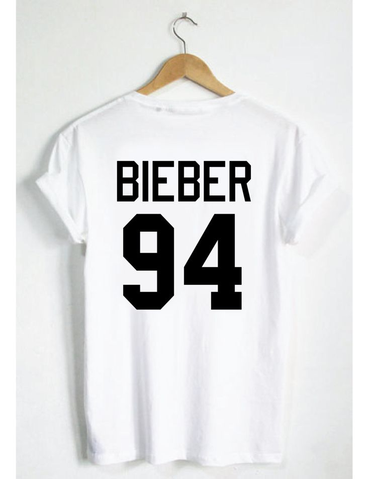 justin bieber 94 t shirt belieber jersey style tee. Black Bedroom Furniture Sets. Home Design Ideas