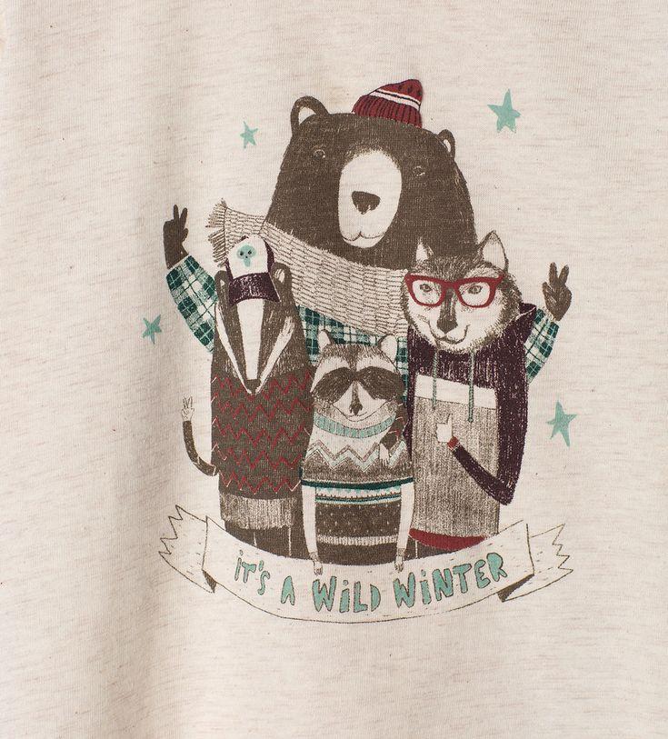 Animals top-T-shirts-Baby boy | 3 months-4 years-KIDS | ZARA United Kingdom