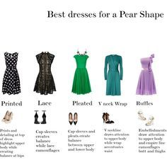 Best dresses for Pear Shapes
