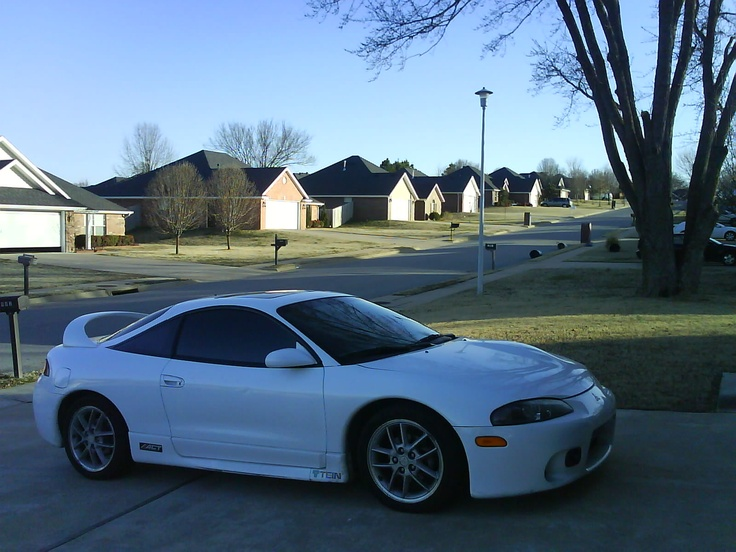 My dream car(: 1999 Mitsubishi Eclipse GSX<3