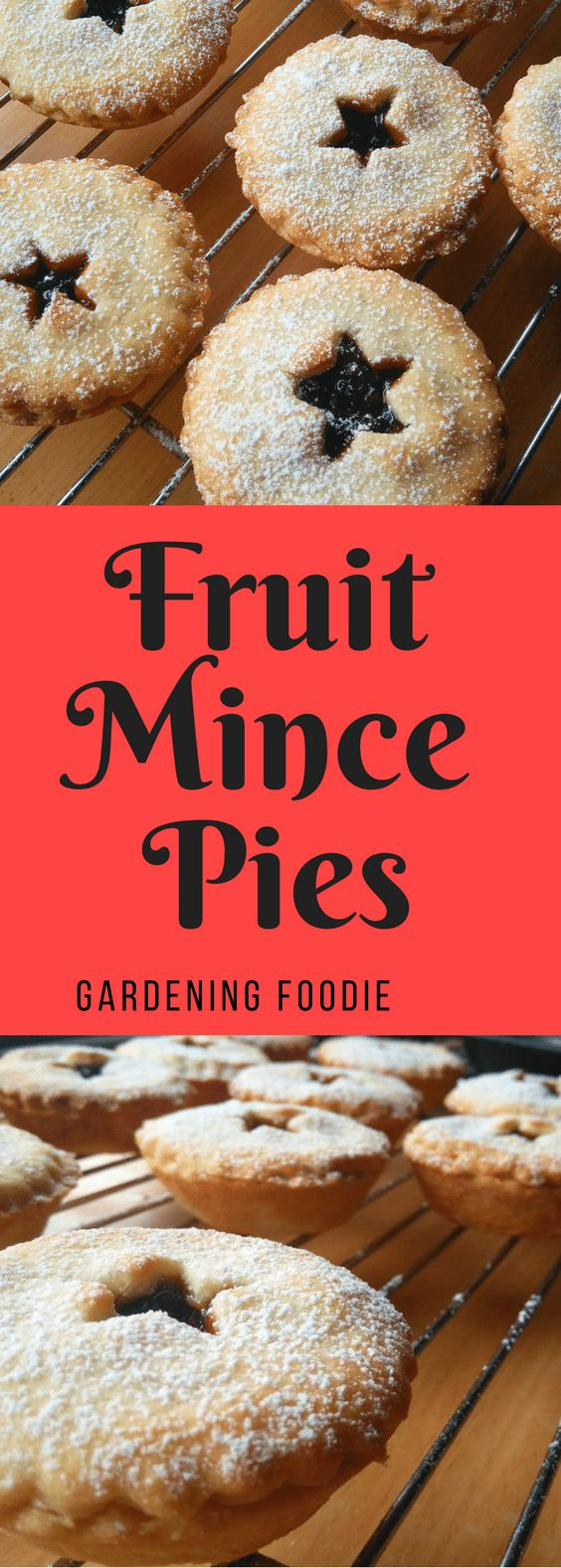 These fruit mince piesare made with delicious shortcrust pastry and filled with traditional spiced fruit mincemeat, and dusted with sugar