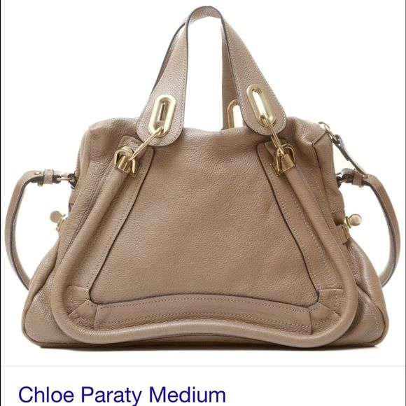 chloe paraty medium mastic Authentic chloe paraty medium mastic I have guarantee card great great condition almost new. :-)Sale only :-) price firm. No dust bag Chloe Bags Shoulder Bags