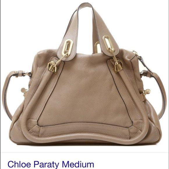 chloe paraty medium mastic Authentic chloe paraty medium mastic I have guarantee card great great condition almost new. :-) Chloe Bags Shoulder Bags