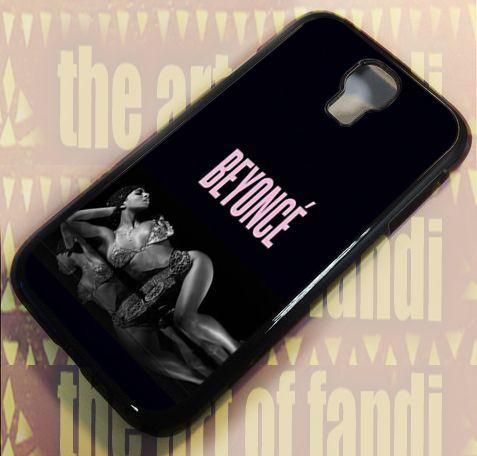 Beyonce For Samsung Galaxy S4 Black Rubber Case