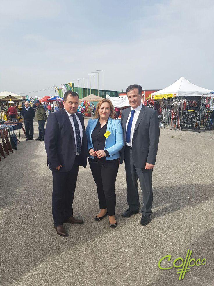 19. proljetni međunarodni bjelovarski sajam u Gudovcu, Kruna sa ministrom poljopivrede Davorom Romićem  i direktorom Bjelovarskog sajma Davorinom Posavcem #CollocoMarketing