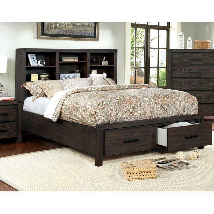 Rhoda Storage Platform Bed Frame, Wayfair Queen Platform Bed With Storage