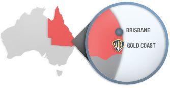 Movie World Location:  Movie World Pacific Motorway Gold Coast Queensland 4210 Australia  Bookings & Info: 13 33 86 Reception: +61 7 5573 3999 Fax No: +61 7 5573 3666 New Zealand: 0800 123 386