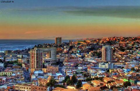 Sunset #Valparaiso
