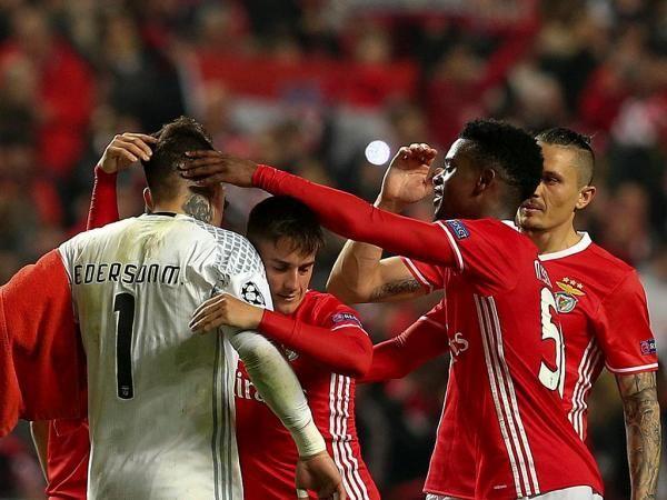 SL Benfica: Ederson, Nélson Semedo, Cervi, Fejsa...