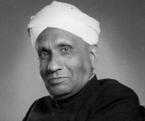 Pictures of C.V. Raman