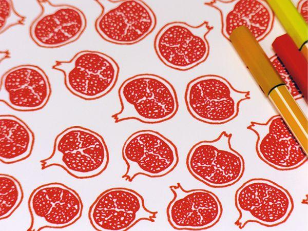 Produce Illustrations by Sasha Prood, via Behance