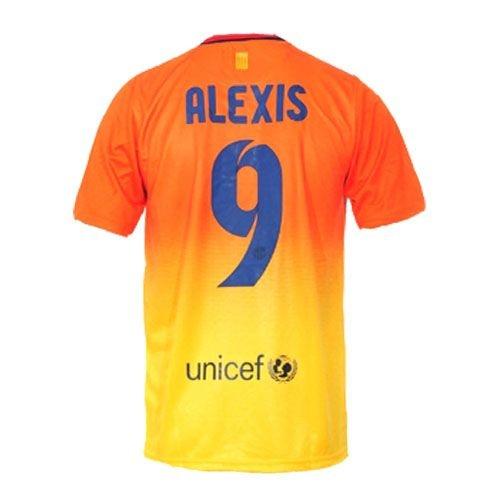 ALEXIS Barcelona Away Soccer Jersey 2012/2013