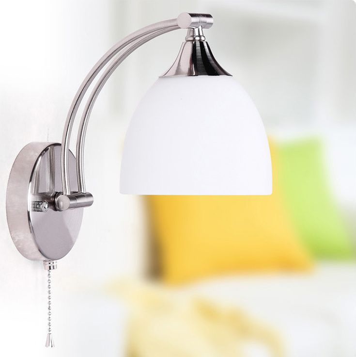 Image result for bedroom wall lights with switch