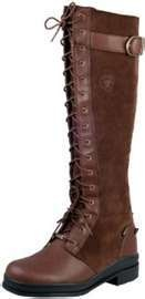 7 M NEW WOMENS ARIAT CONISTON WATERPROOF ENGLISH RIDING BOOTS BROWN ..EQUESTRIAN