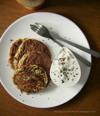 Moje Dietetyczne Fanaberie: Placuszki z cukinii bez mąki!