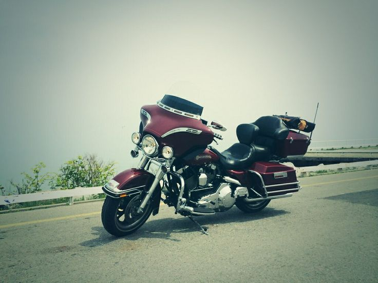 Here is my Harley now. It's has some extras added to it. Oh, Ya !!