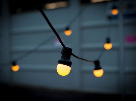 20m outdoor led festoon lights by Green with Envy