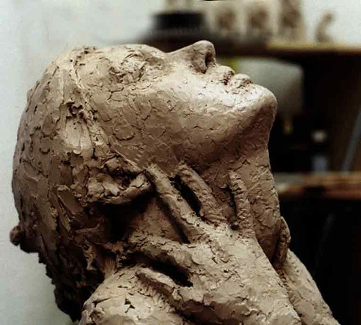 Best ideas about clay sculptures on pinterest