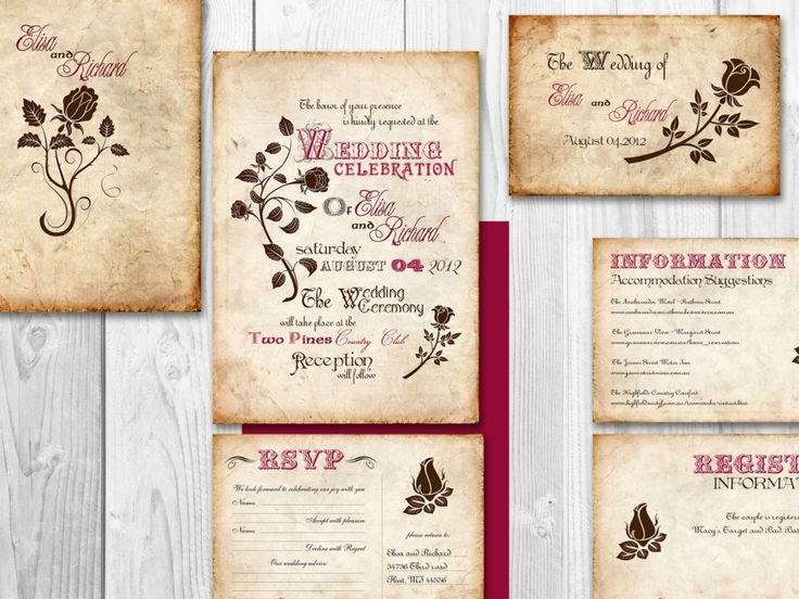 Blank Wedding Invitation Kits Hollowwoodmusic unitedarmyinfo