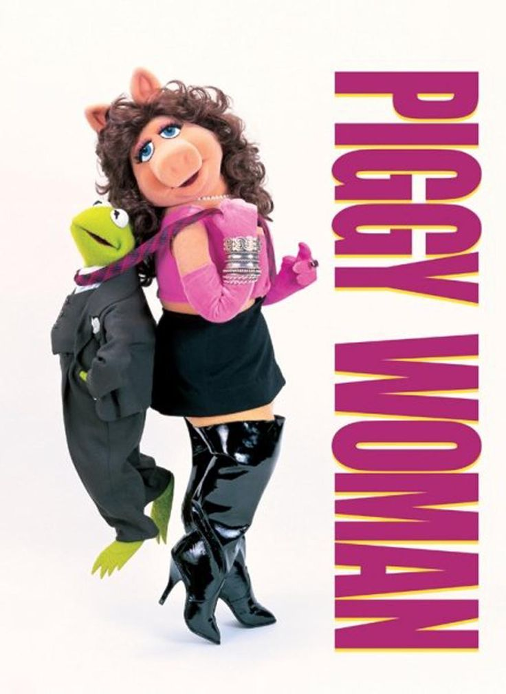 """Piggy Woman"" Muppet Poster http://blogs.disney.com/oh-my-disney/2014/03/06/13-other-muppet-movies-we-most-want-to-see/"