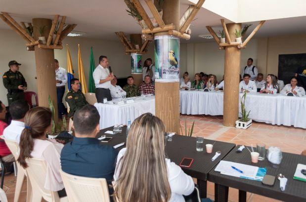 El Consejo de Gobierno entre ambas administraciones fue exitoso y se cumplió en el municipio de Filandia, Quindío, donde se unificaron temas