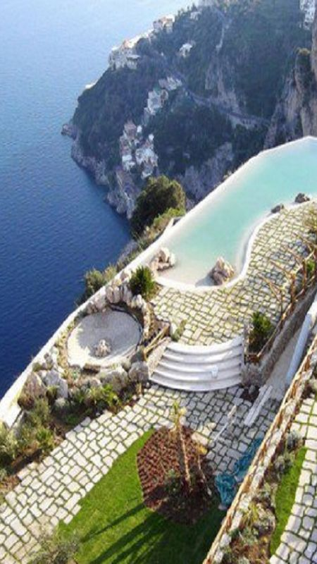 Monastero SantaRosa - Amalfi http://VIPsAccess.com/luxury-hotels-rome.html......really????...WOW!!