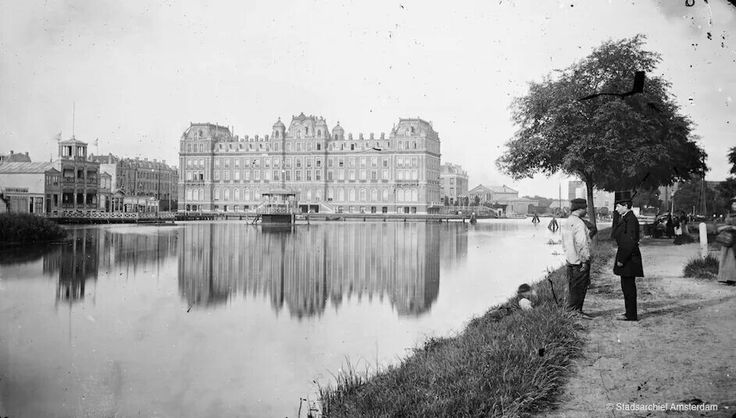 Amstel Hotel. Amsterdam, The Netherlands. 1872