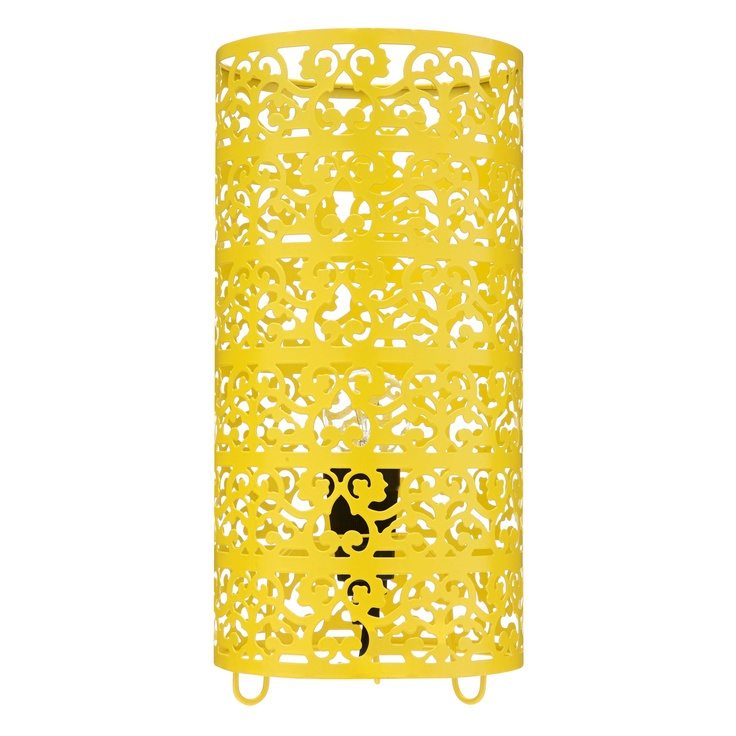 Fancy Table Lamp Yellow from Domayne