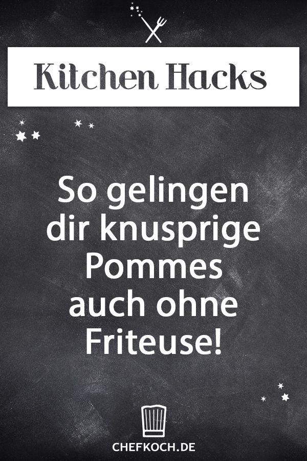 Kitchen Hack: So gelingen dir knusprige Pommes auch ohne Friteuse!