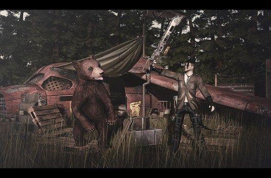Man vs Wild #SL #SecondLife #PourSLHomme #MRSLFeed