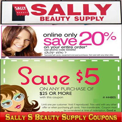 Sally beauty coupon code