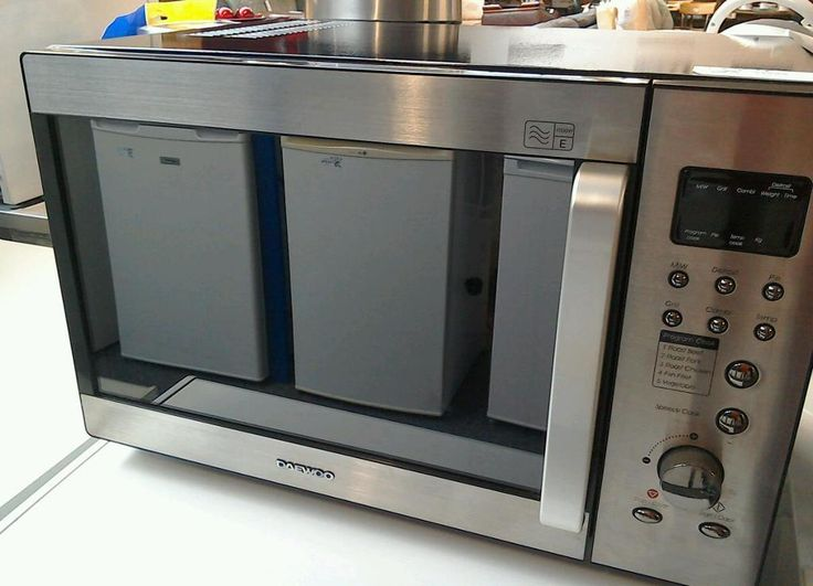 Microwave With Built In Toaster ~ Daewoo kog t compact microwave oven with built in