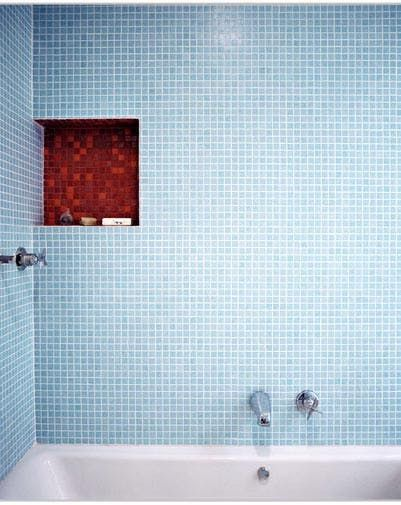Bathroom Glass Tiles from Hakatai   Apartment Therapy