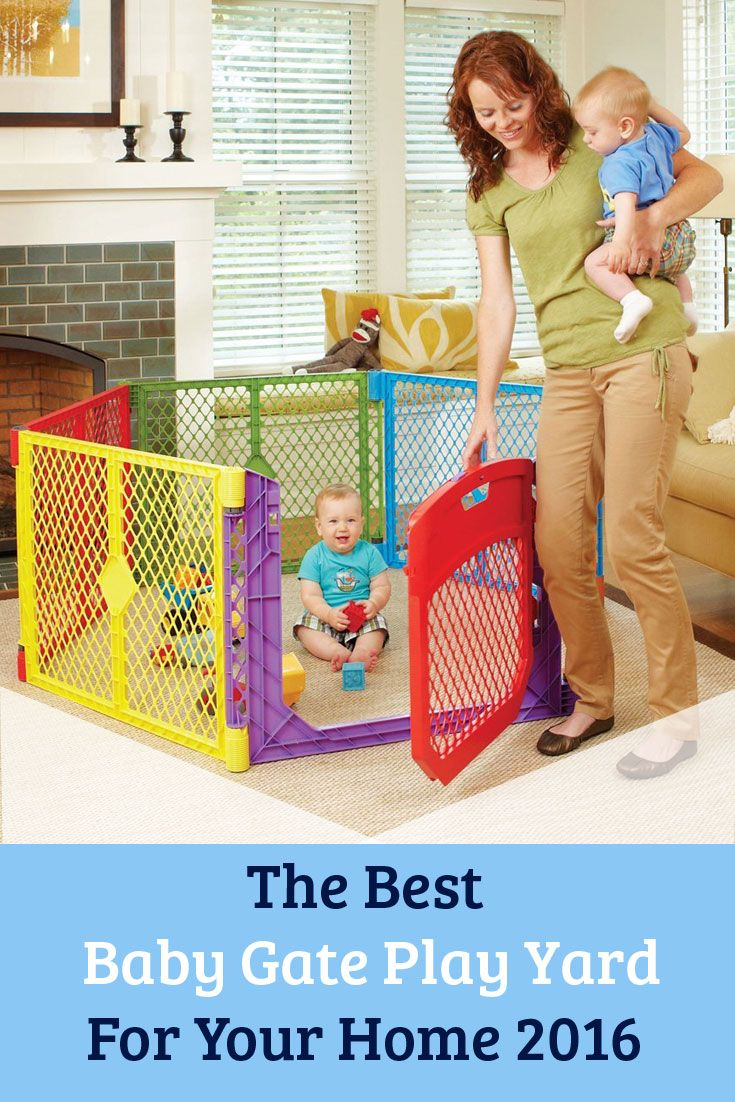 The Best Baby Gate Play Yards: When little ones are at the point of getting into everything, a baby gate play yard can be an important asset for parents. Find the best play yard for your house using this handy comparison guide.