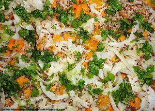 recept voor quinoa met venkel, zoete aardappel en peterselie - bijnanetzolekkeralsthuis.nl